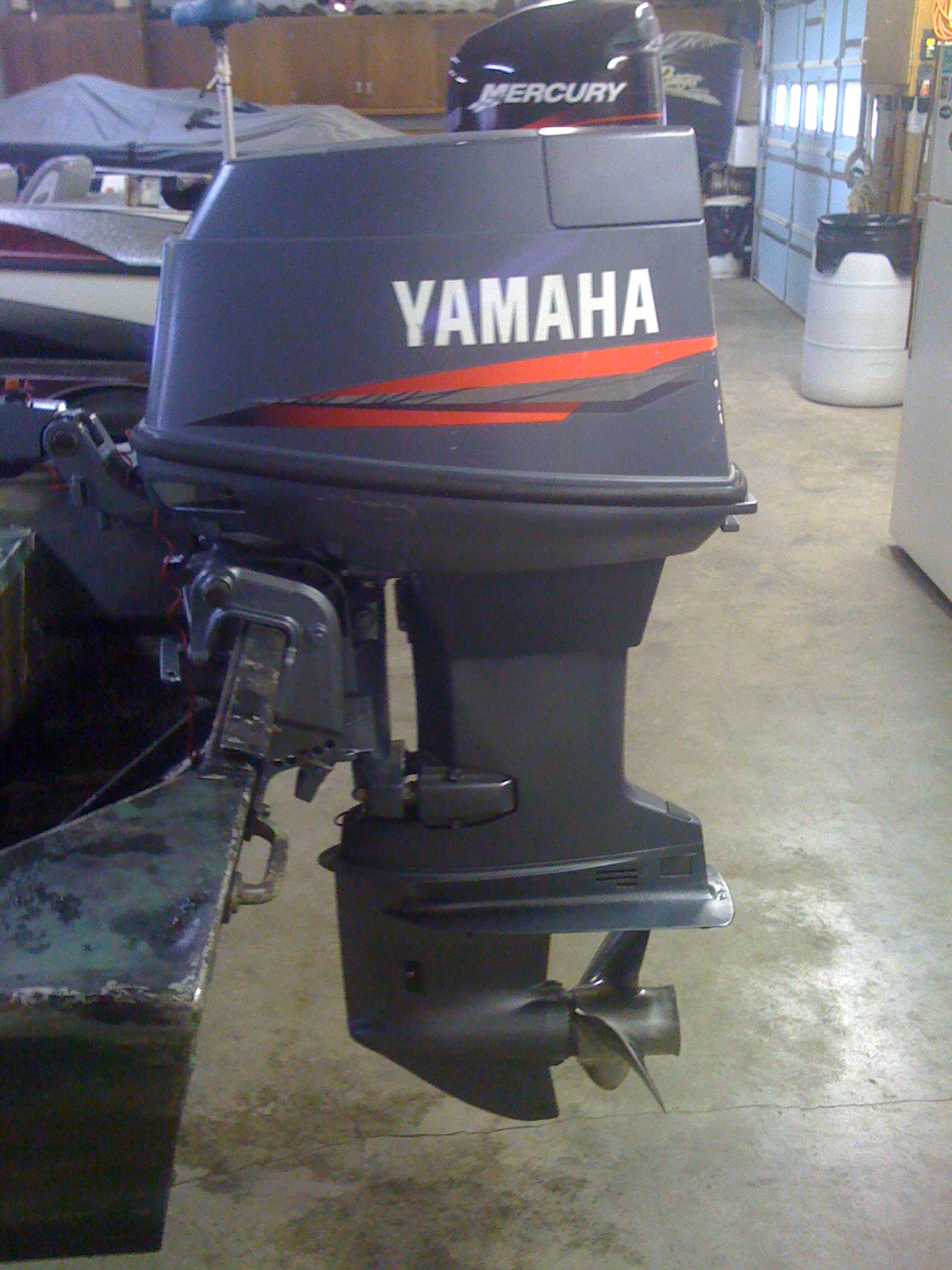 Sclakes Com View Topic 1999 Yamaha 40 Hp Short Shaft